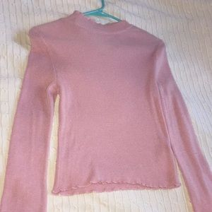 ✨Pink long sleeve blouse!✨